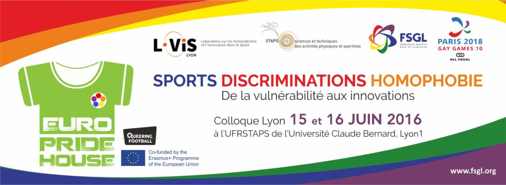 Colloque-Sports Discriminations-Homophobie-Vulnerabilite-Innovation